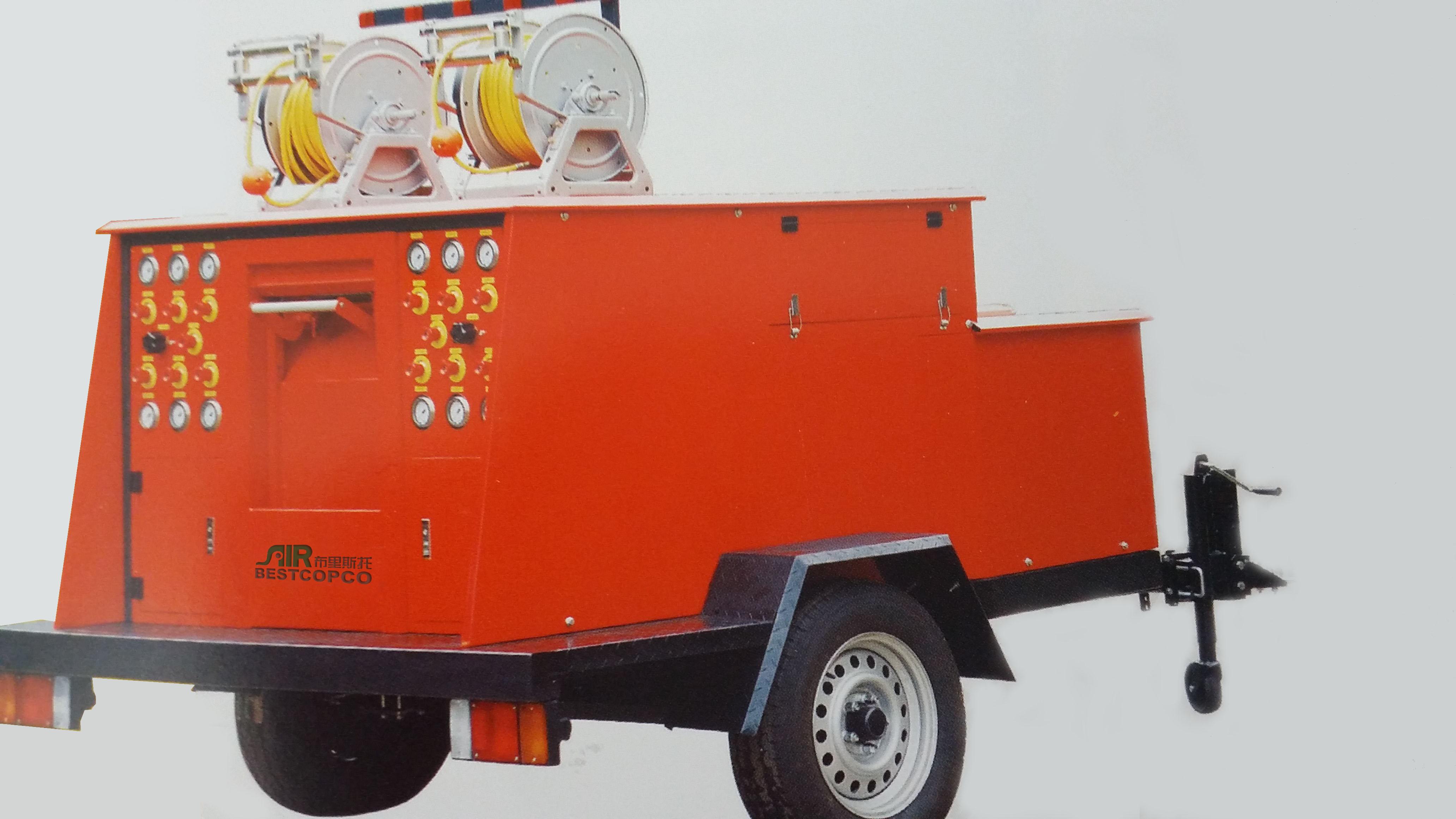 持续供气!布里斯托专为满足现场救援作业而设计 移动式充气车
